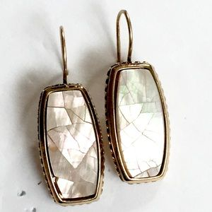 Liz Claiborne Mother of pearl earrings